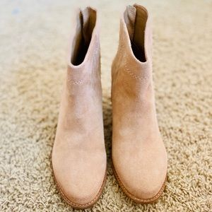 NWOB Splendid Fine Leather/Suede Above Ankle Boots